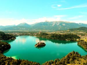 красивая природа, озеро, природа, рай на земле
